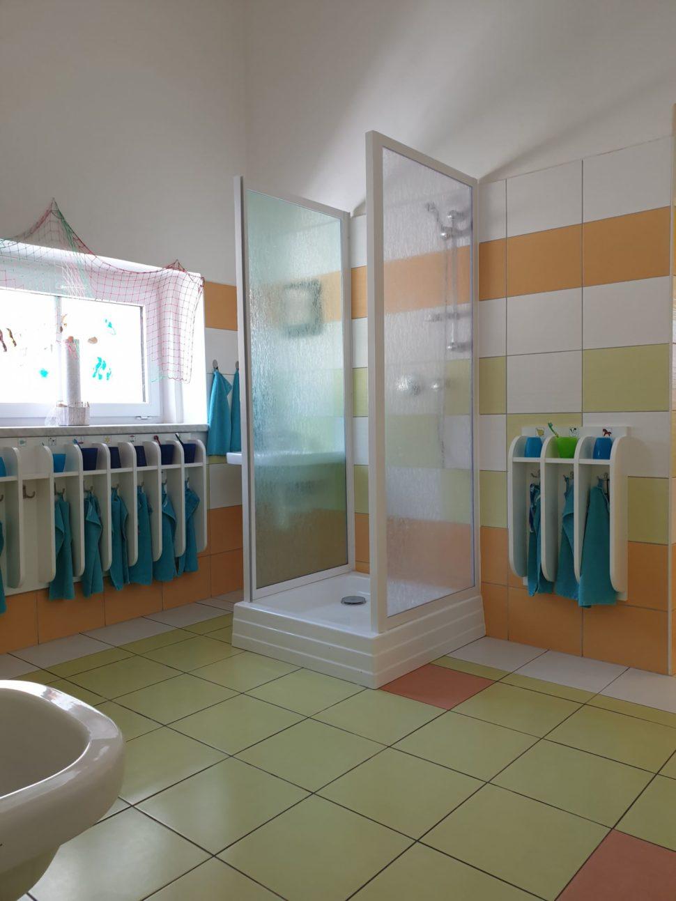 Sprcha vumývarnách